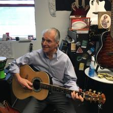 JC playing Glen Campbell's guitar.JPG