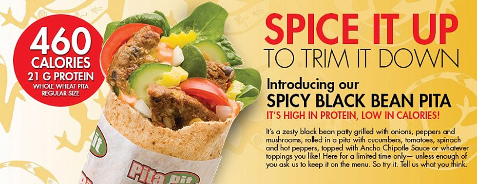 photo relating to Pita Pit Printable Menu called Pita pit winnipeg menu - Wingate resort birmingham