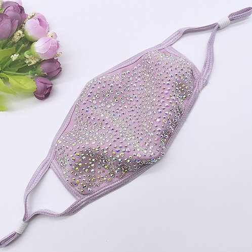 Bling Mask - Lilac