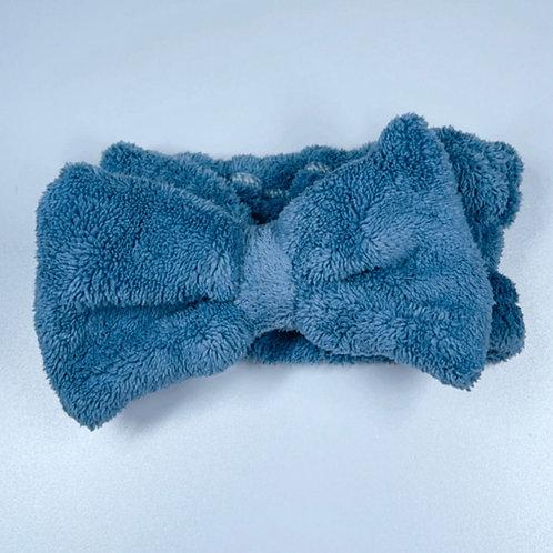 Bow Headband - Navy