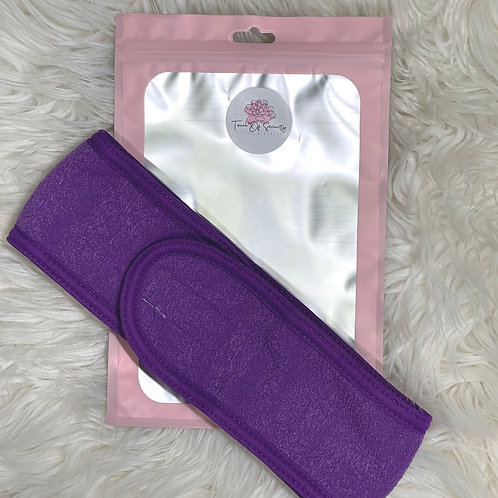 Facial Headband - Purple