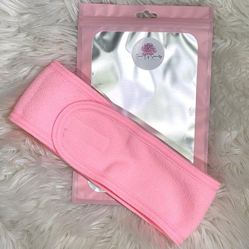 Facial Headband - Pink