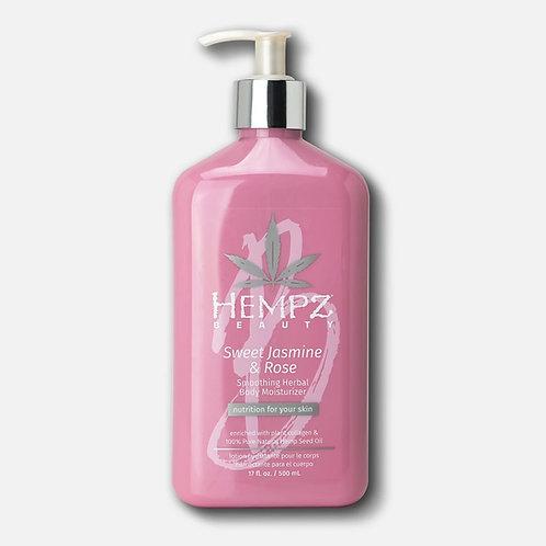 Sweet Jasmine & Rose Collagen Infused Herbal Body Moisturizer
