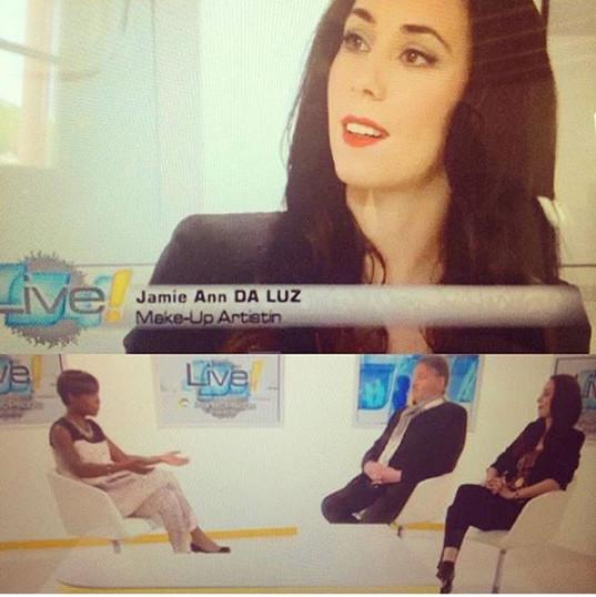 #tv #tvshow #interview #makeupartist #ma