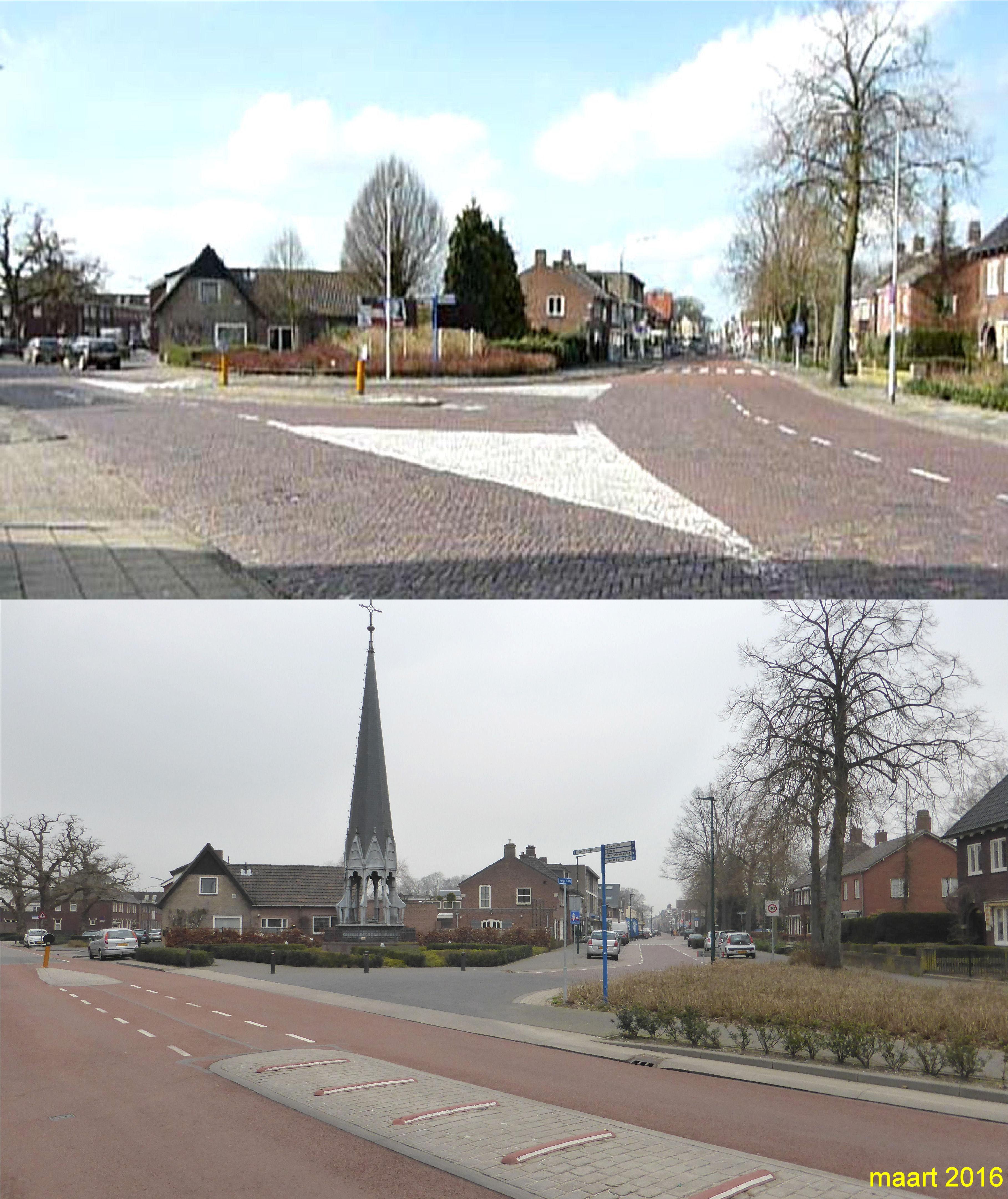 Splitsing St Josephstraat - Hoge Ham