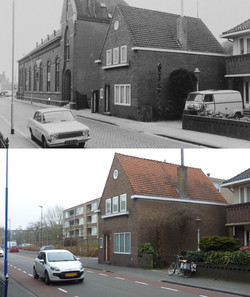 Gasthuisstraat Leo XIII gebouw nu Jonker