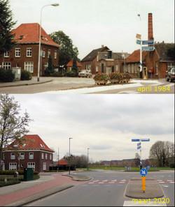 Rotonde Lage Ham-Noorderlaan-Beljaartlaa
