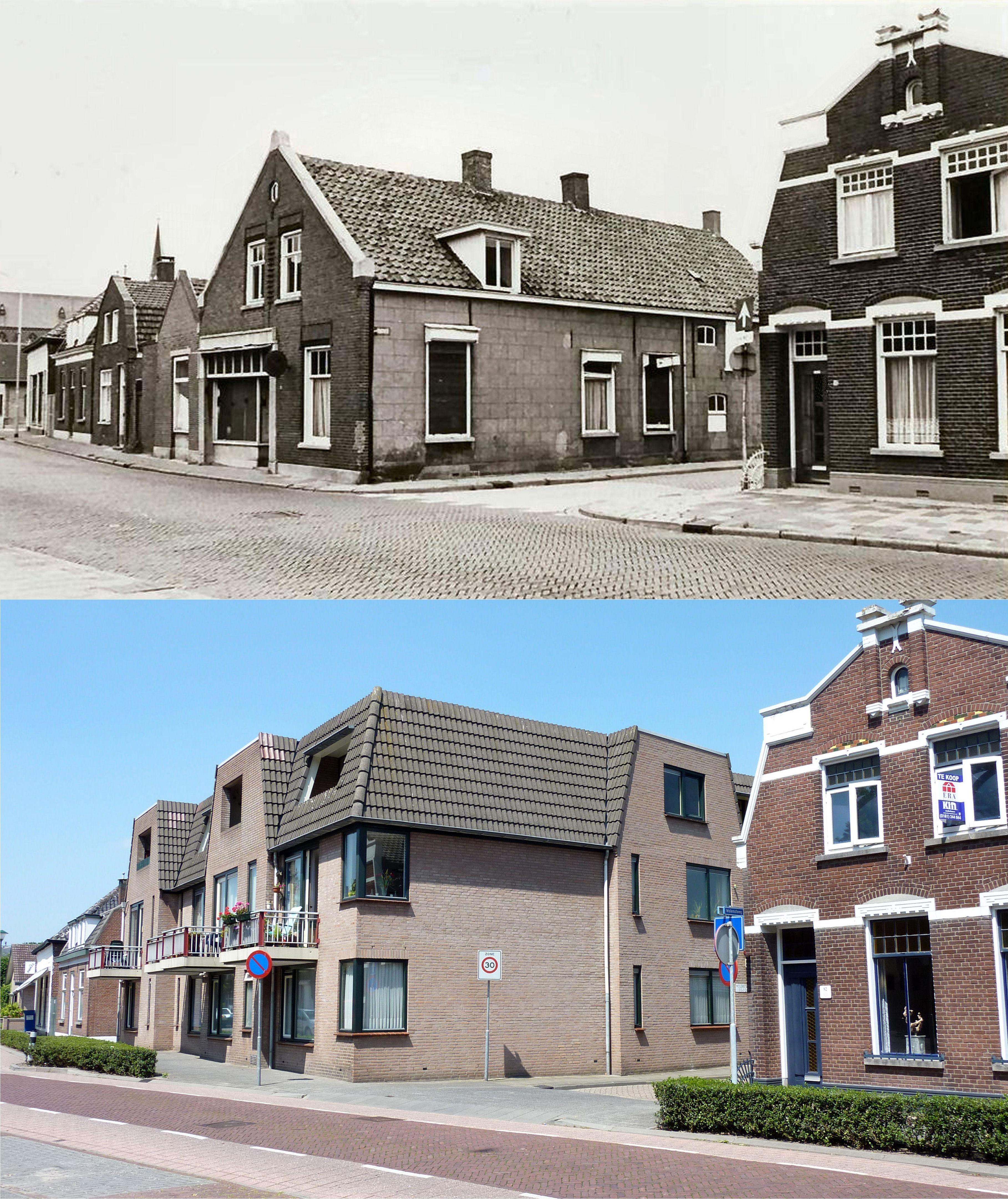 Sint Josephstraat hoek Molensteeg