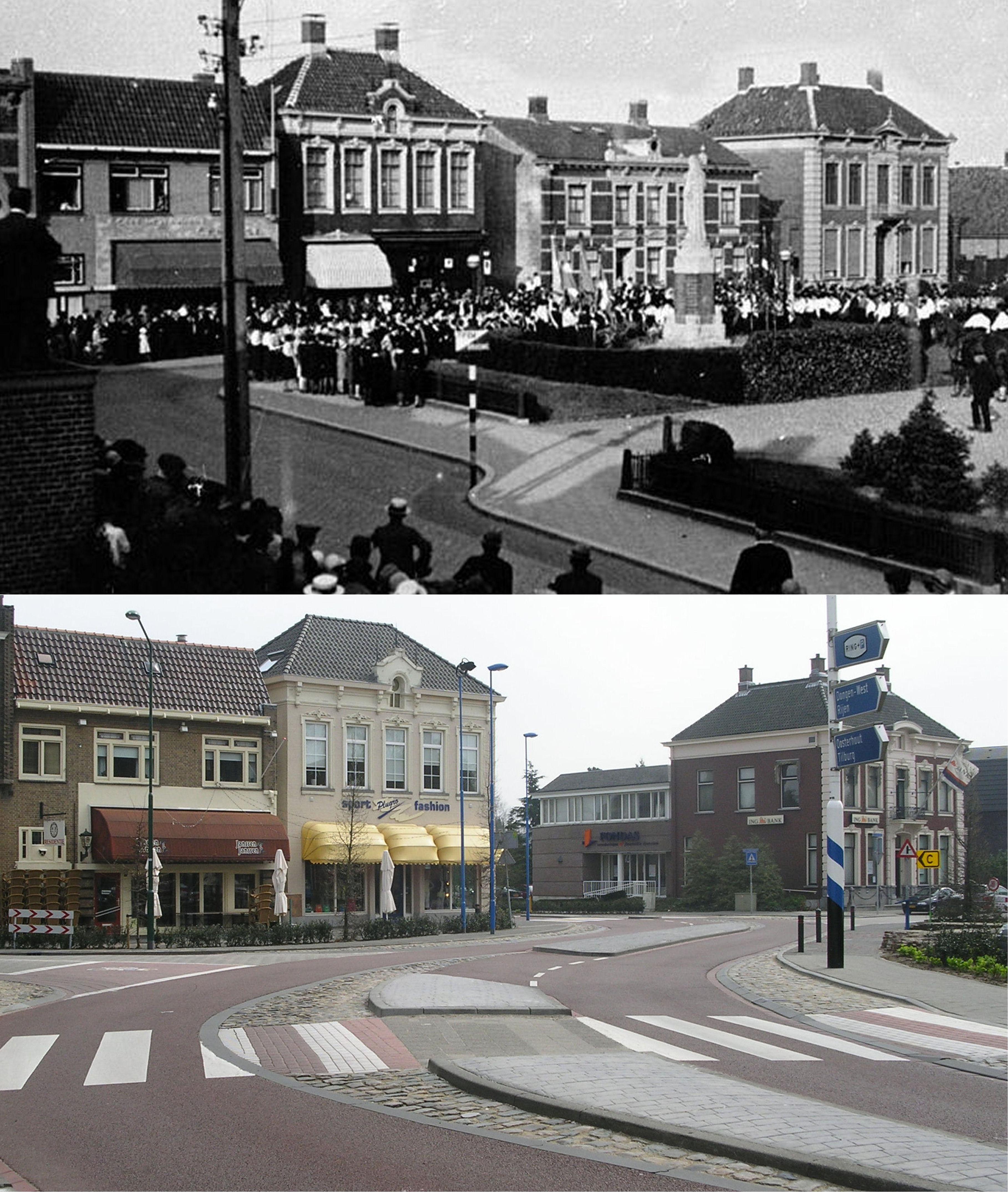 Vanuit Gasthuisstraat richting Hoge Ham.