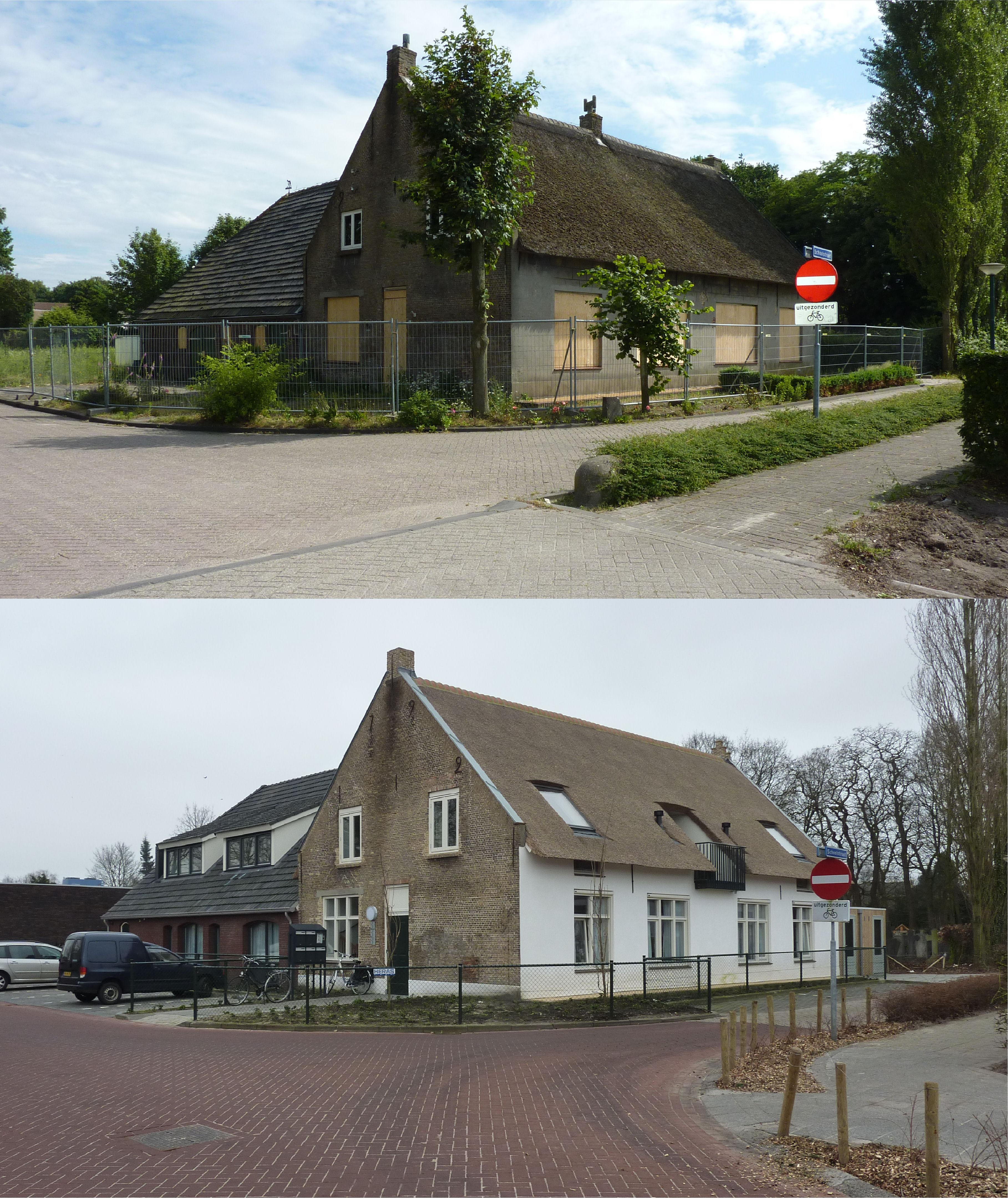 Schoolstraat hoek Kloosterpad