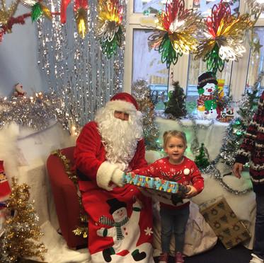 Santa brought presents