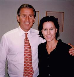 Former Texas Governor George W. Bush