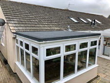 AFTER conservatory roof