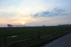 Evening Landscape view