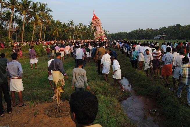 Carry a Temple Through the Fields