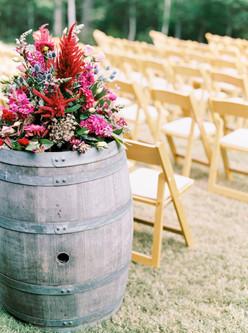 Wedding Ceremony at Ashton Creek Vinyard