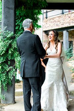 Bride winery wedding