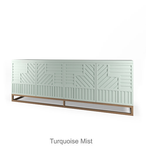 Stria Turquoise Mist