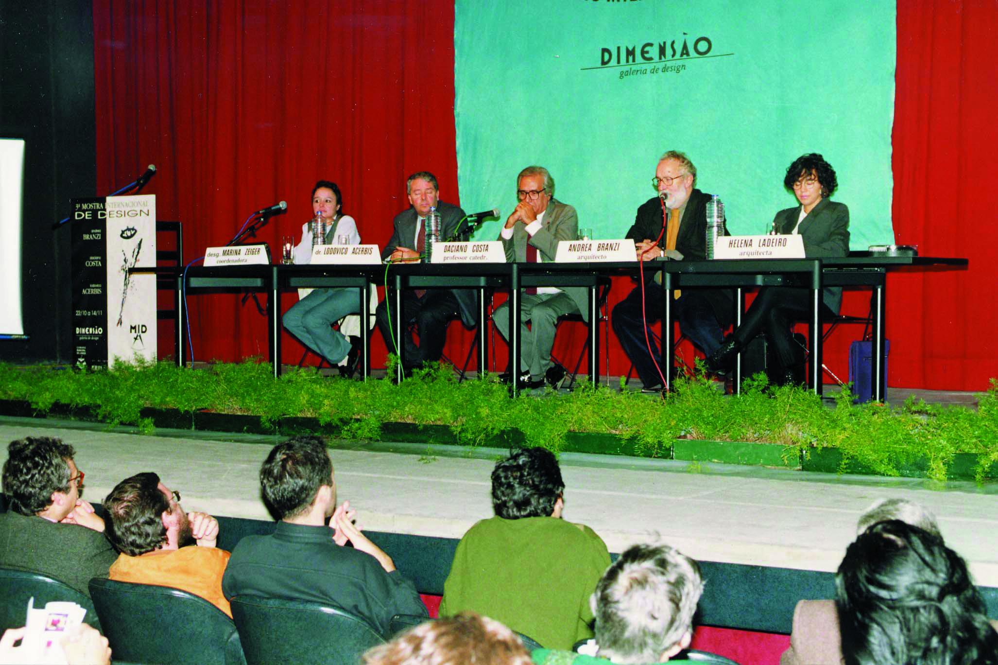 Conferência com Andrea Branzi