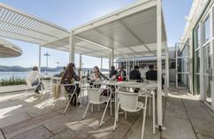 Topo Belém: petiscos e cocktails à beira-rio com uma esplanada Unopiù