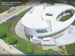 Casa Elíptica do Arquiteto Mário Martins na La Maison France 5