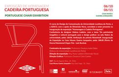 Copos Ritzenhoff ilustrados por autores portugueses na Exposição de Homenagem à Cadeira Portuguesa -