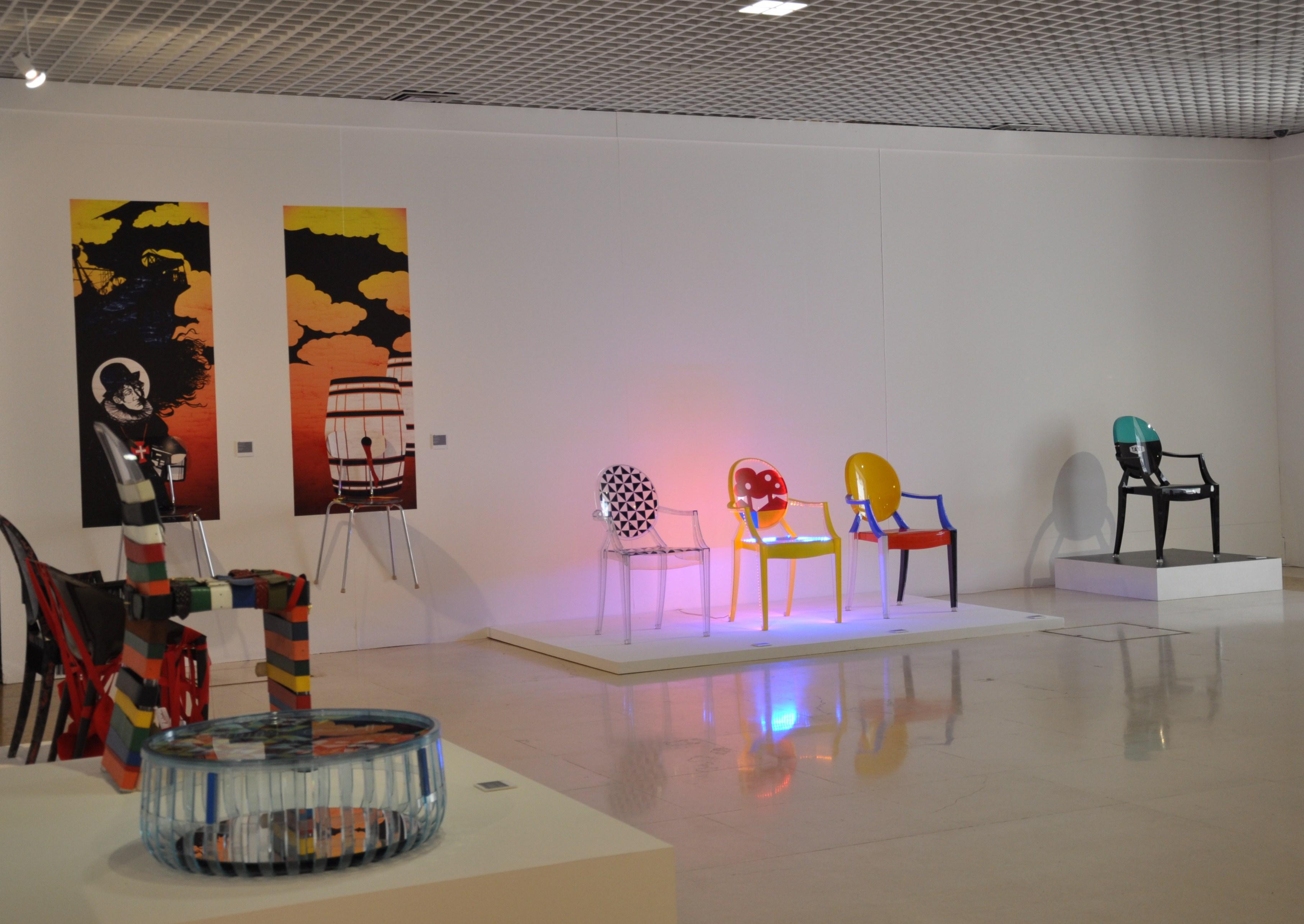 Exposição Kartell Love's Lagos
