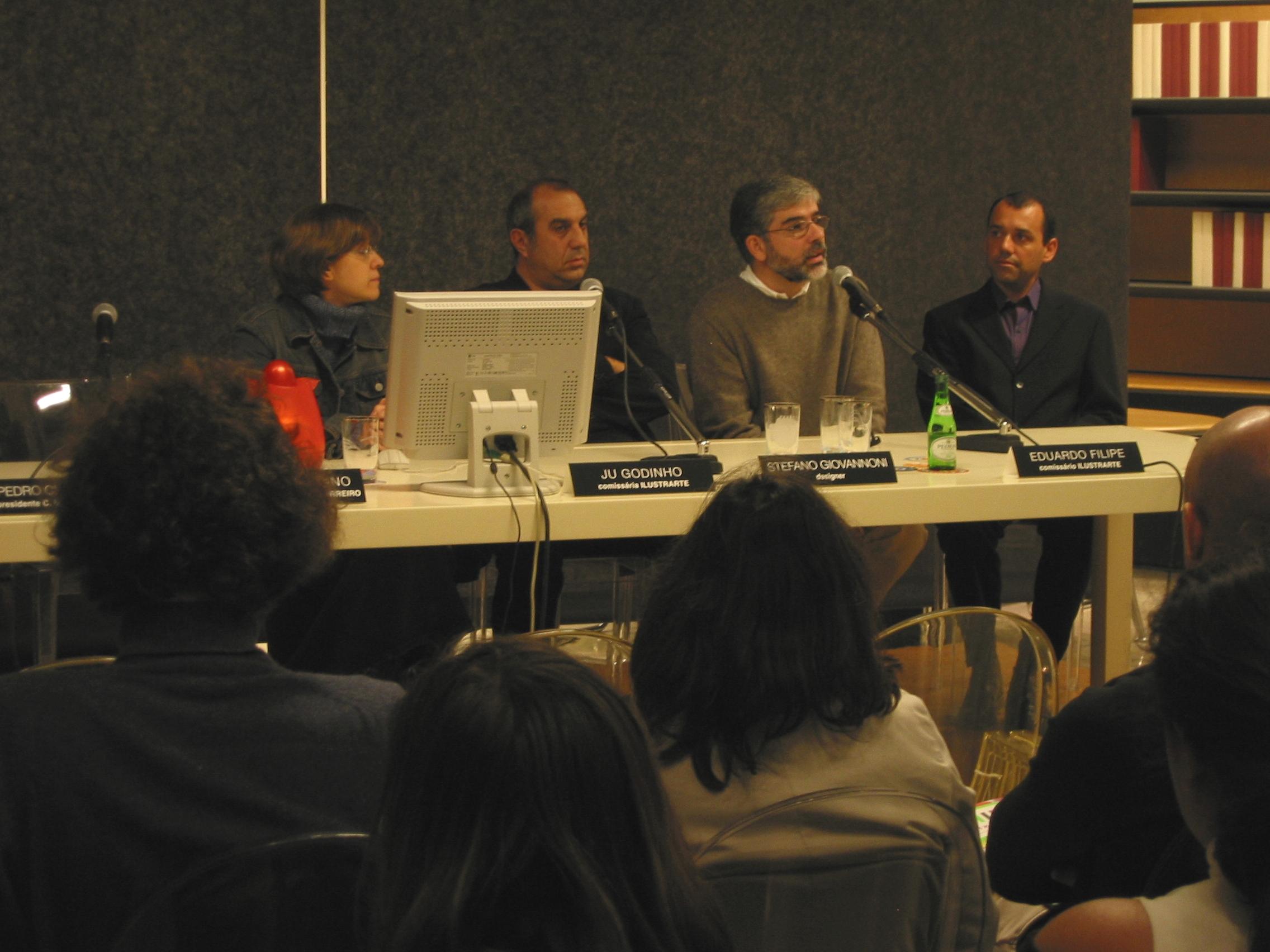 Conferência com Stefano Giovanonni