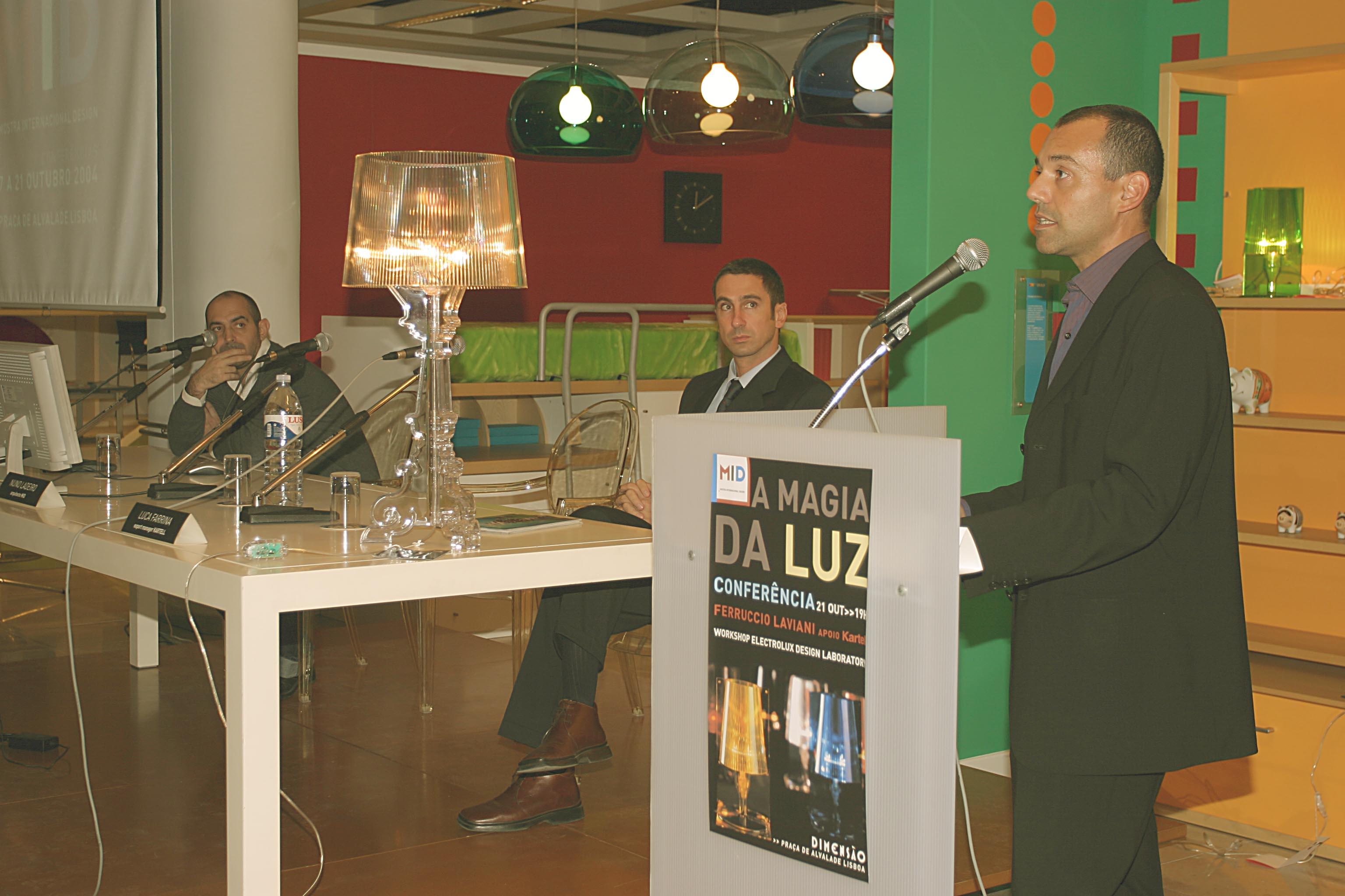 Conferência com Ferruccio Laviani