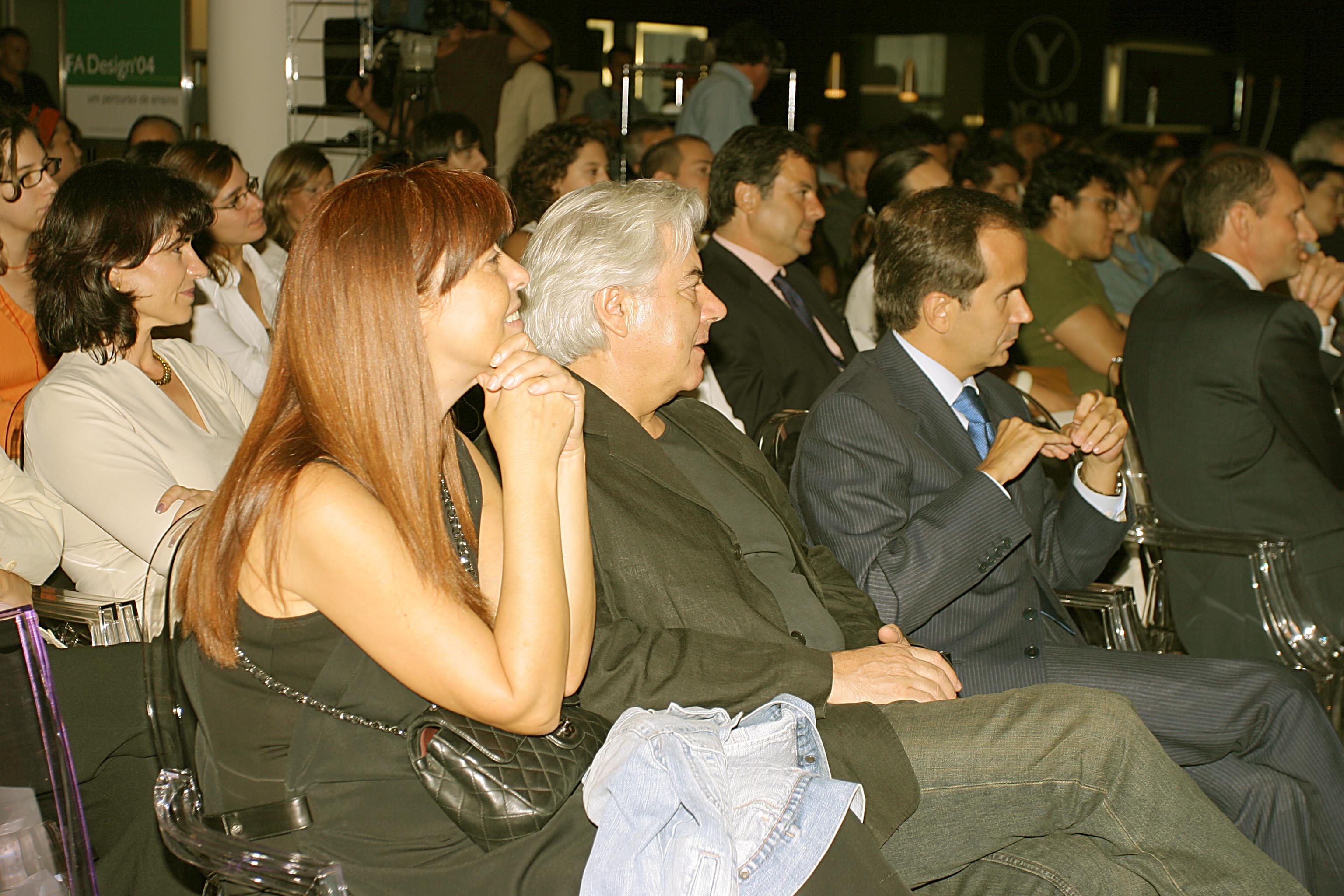 Conferência com Javier Mariscal