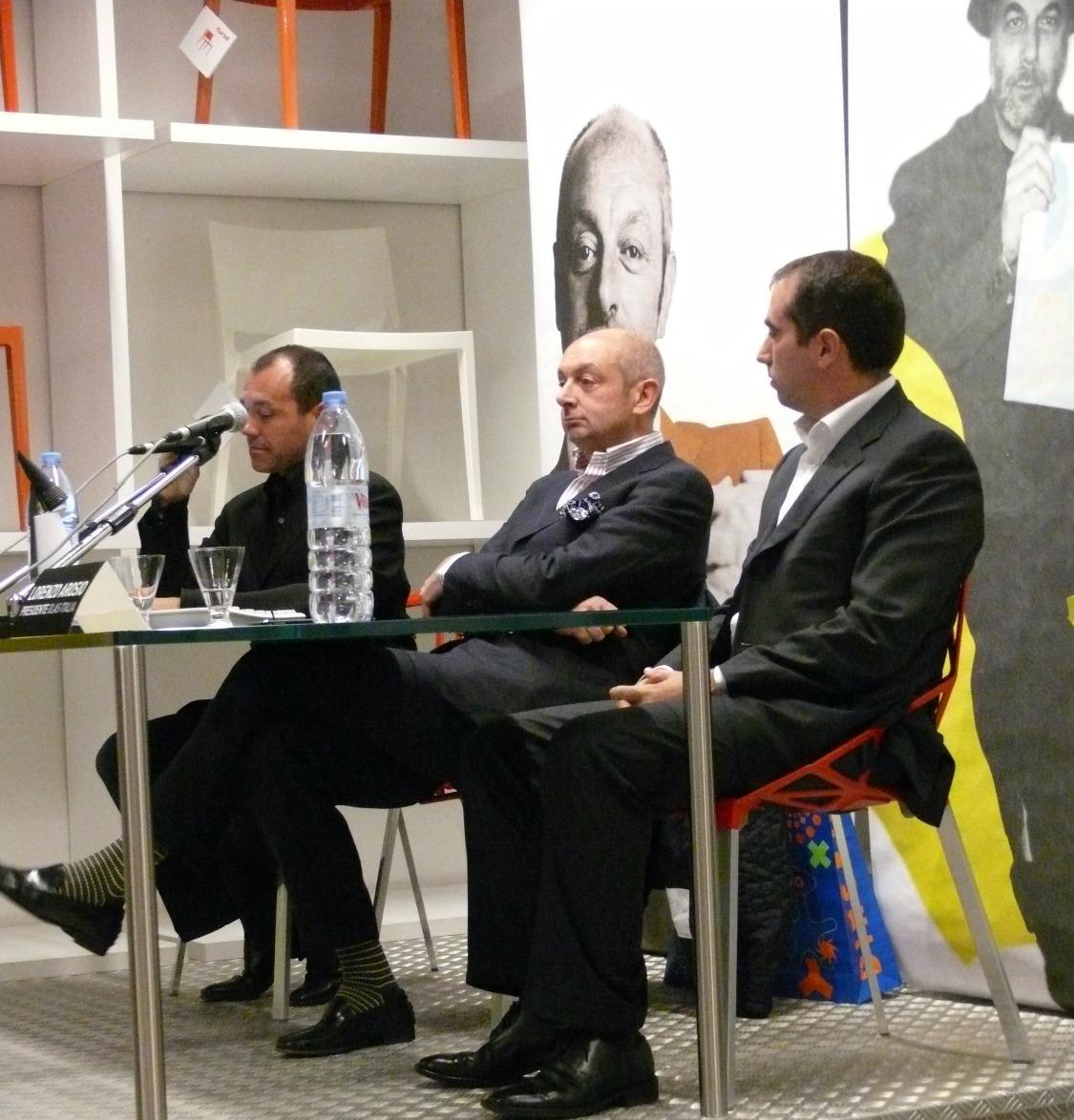 Conferência com Piero Lissoni
