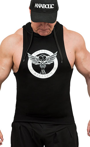 Hooded Muscle Vest