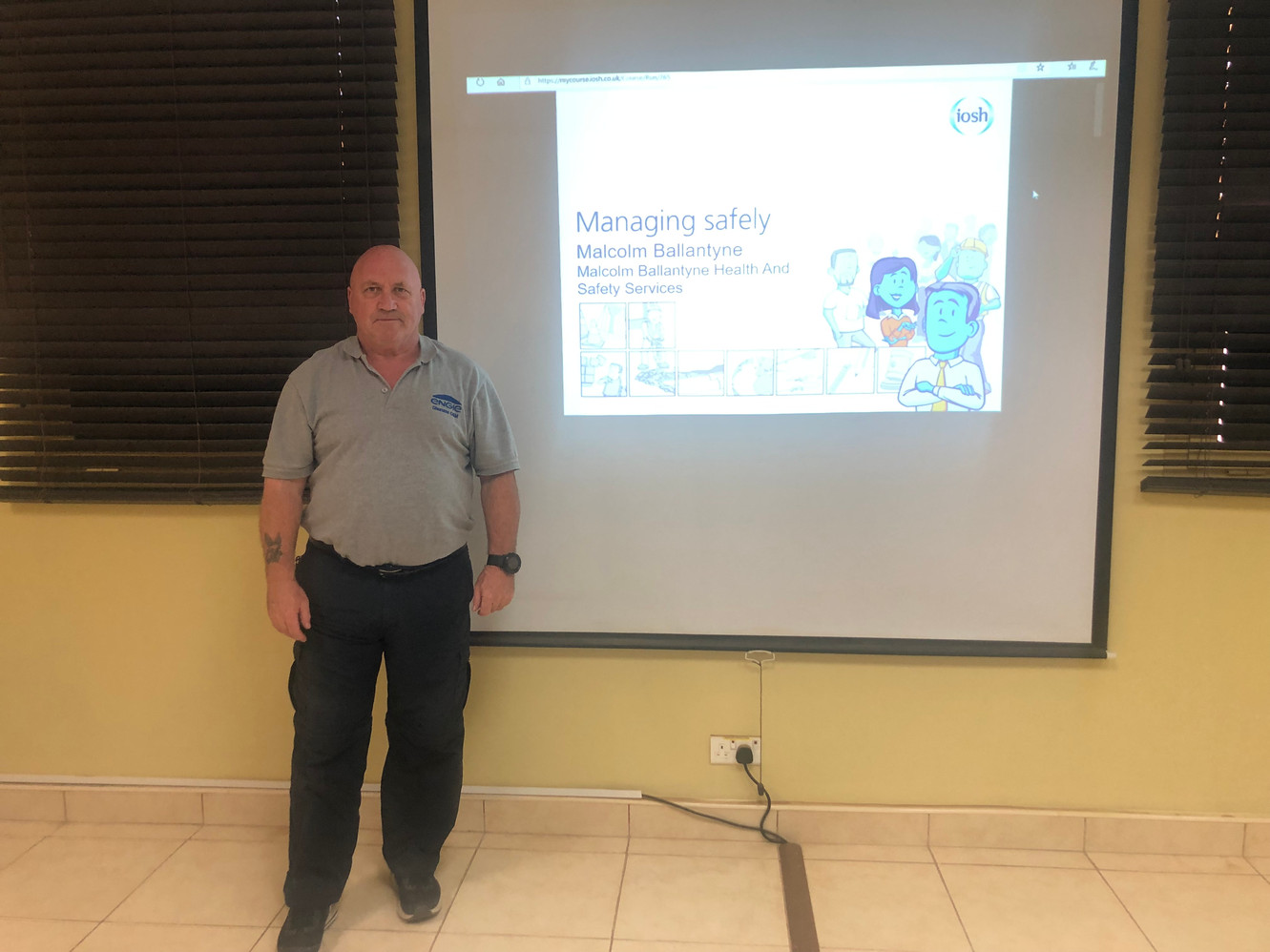 IOSH Managing Safely Training For Dhuruma O&M Company