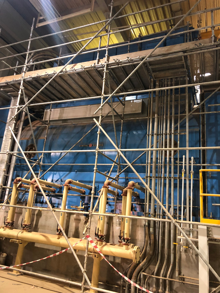 Industrial Scaffolding Inspections