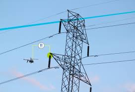 power line drone inspection