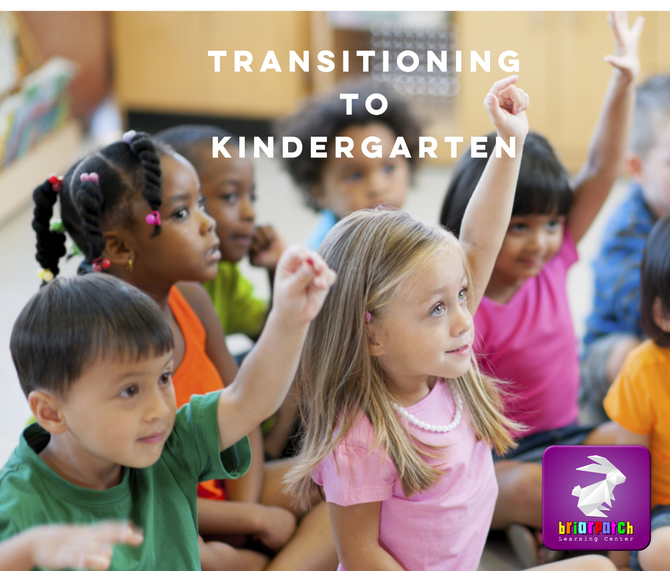 HERE ARE SOME WAYS TO HELP KIDS TRANSITION TO KINDERGARTEN