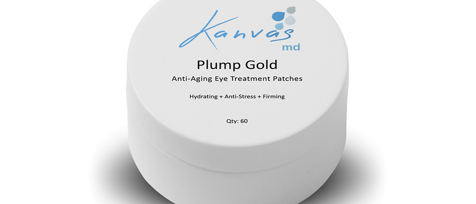 PLUMP GOLD ANTI-AGING EYE TREATMENT PATCHES
