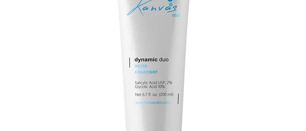 DYNAMIC DUO ACNE CLEANSER