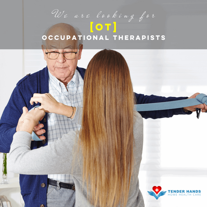 WE ARE LOOKING FOR OCCUPATIONAL THERAPISTS...