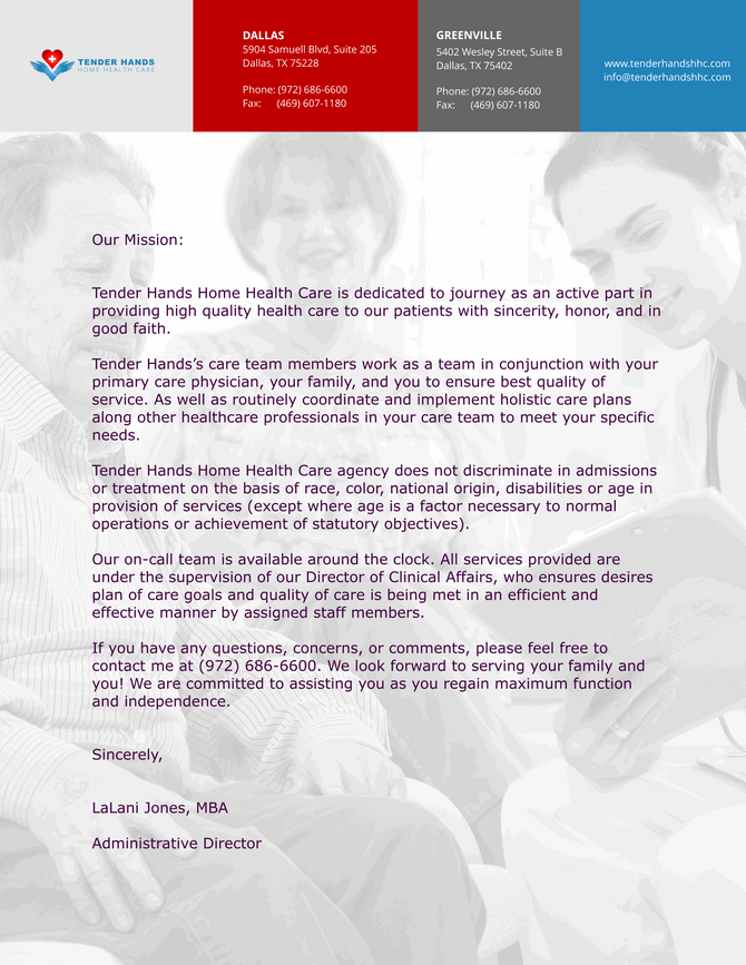 A LETTER FROM OUR DIRECTOR