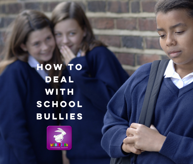 LEARNING TO DEAL WITH BULLYING AT SCHOOL