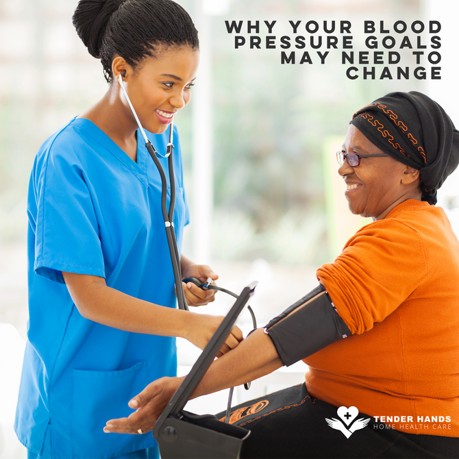 WHY YOUR BLOOD PRESSURE GOALS MAY NEED TO CHANGE
