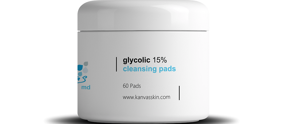 GLYCOLIC 15% CLEANSING PADS
