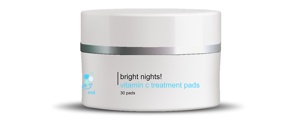 BRIGHT NIGHTS VITAMIN C TREATMENT PADS