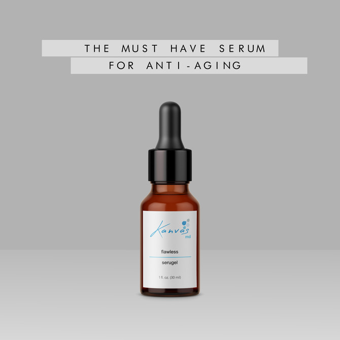 THE MUST HAVE SERUM FOR ANTI-AGING IS FLAWLESS SERUGEL