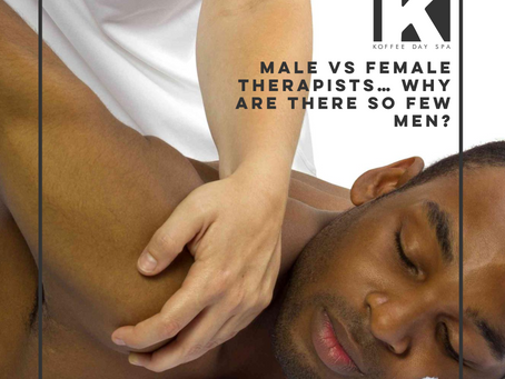 MALE VS FEMALE THERAPISTS… WHY ARE THERE SO FEW MEN?