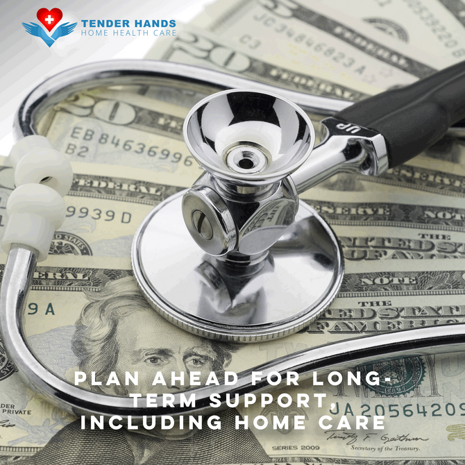 PLAN AHEAD FOR LONG-TERM SUPPORT, INCLUDING HOME CARE