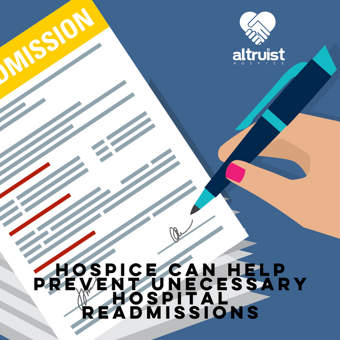 HOSPICE CAN HELP PREVENT UNNECESSARY HOSPITAL READMISSIONS