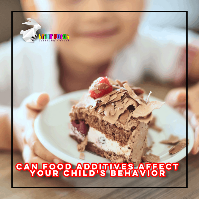 CAN FOOD ADDITIVES AFFECT YOUR CHILD'S BEHAVIOR