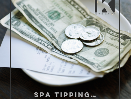SPA TIPPING… HOW MUCH?